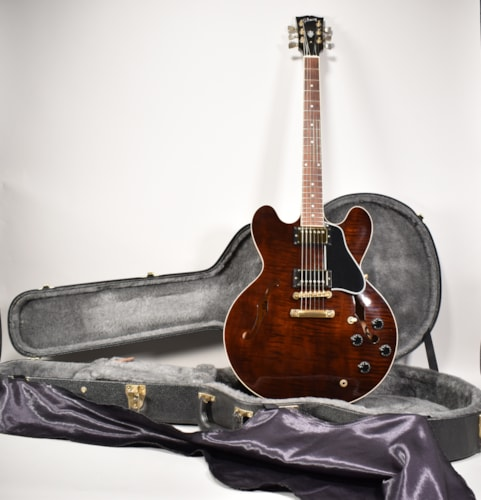 2001 Gibson ES-335 Dot Rootbeer Finish Flametop Electric Guitar w/OHSC