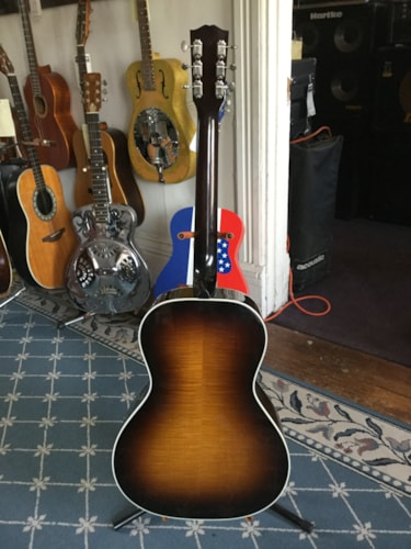 2001 Gibson Nick Lucas Reissue Acoustic Guitar Tobacco Burst, Excellent