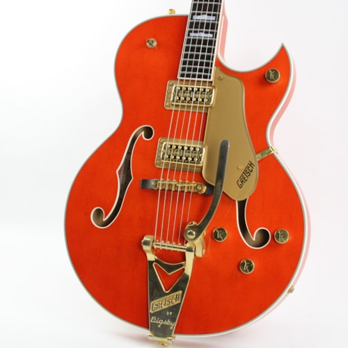 2001 Gretsch® 6120N Trans Orange, Excellent, Original Hard, $1,699.00
