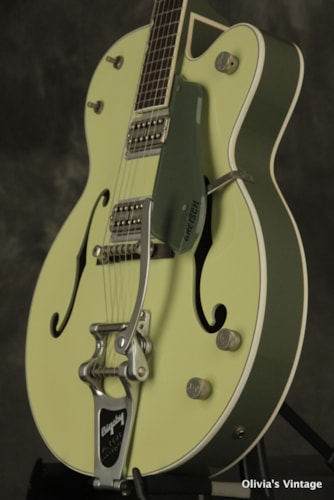 2001 Gretsch G-6118 Double Anniversary TWO-TONE GREEN w/Bigsby