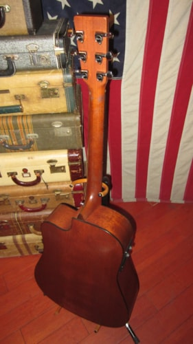 2001 Martin DC-16GTE Acoustic Electric w/ Cutaway Natural, Very Good, Hard, $999.00