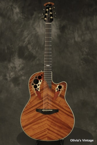 2001 Ovation Collector's Series 01 FRA Redwood
