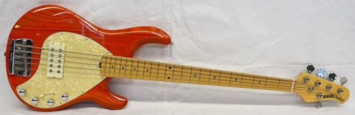 2002 Music Man Stingray-5 Trans Orange
