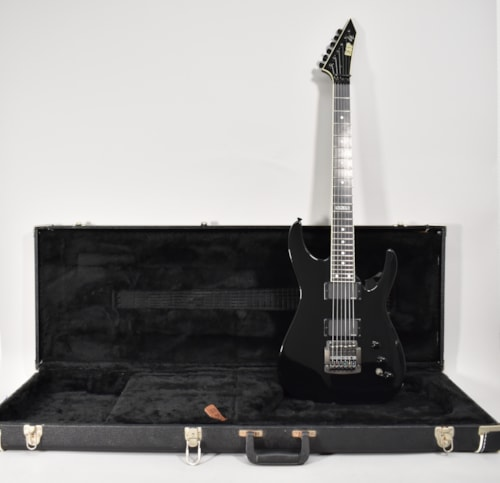 2002 ESP Jeff Hanneman Slayer Signature Model Black Finish Electric Guitar wOHSC