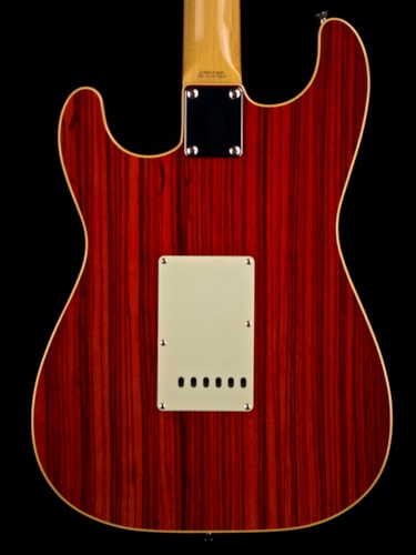 2002 Fender '68 Hollowbody Stratocaster Trans Red