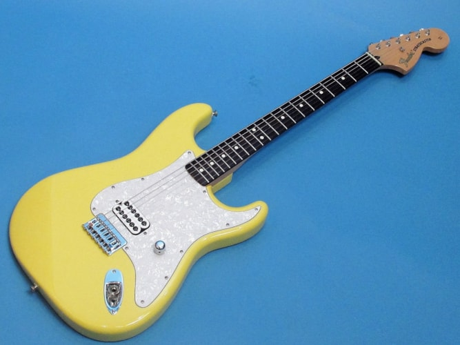 2002 Fender® (Mexico) Tom Delonge Graffiti Yellow, Near Mint, Original Hard, $595.00