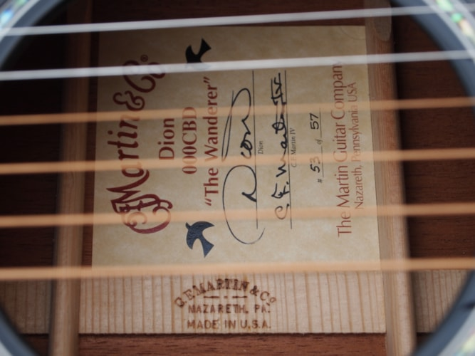 2002 Martin 000C DB  Black, Excellent, Original Hard, $3,999.00