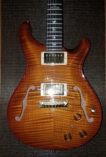 2002 Paul Reed Smith HB I Hollowbody 1 w/piezo Autumn Burst Artist Pak