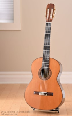 2002 Ramirez 1a Traditional Cedar / Indian Rosewood