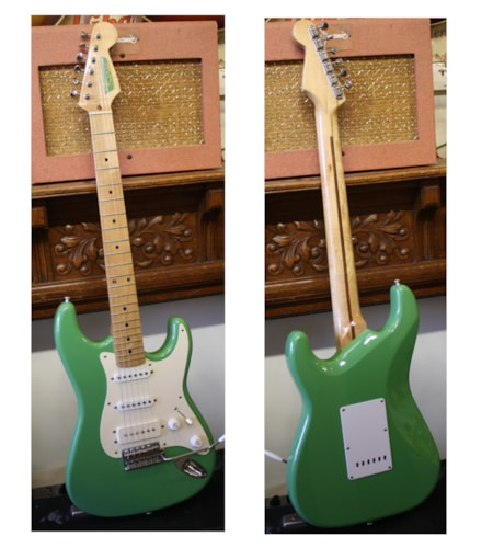 2002 Ramos Stratocaster® Little Greenie, Excellent, GigBag, $2,250.00