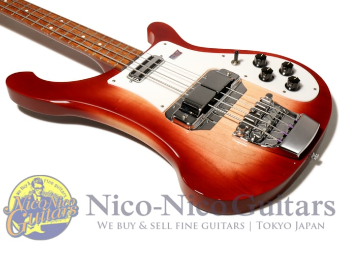 2002 Rickenbacker 4001c64 Fireglo, Excellent, Original Hard