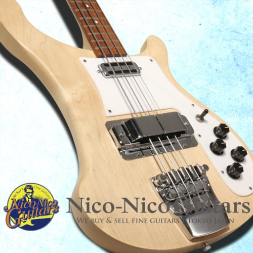 2002 Rickenbacker 4001C64S Mapleglo, Excellent, Original Hard