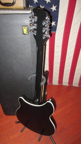 2002 Rickenbacker Model 360 / 12 String Electric Jetglo, Excellent, Original Hard, $2,195.00