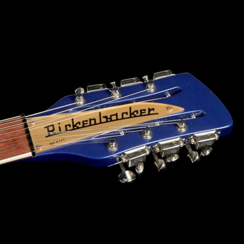 2002 Rickenbacker Used 2002 Rickenbacker 660/12 12-String Electric Guitar Midnight Blue
