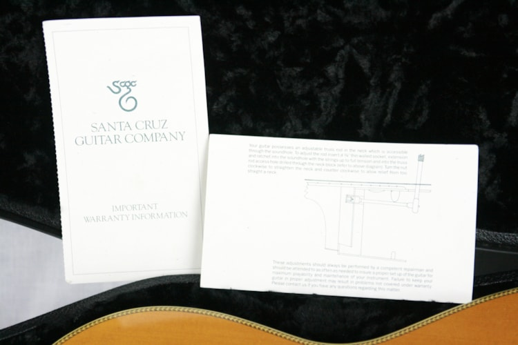2002 Santa Cruz 00 Herringbone Flattop Acoustic Guitar! OO Spruce Top Indian Rosewood h Excellent $3,450.00