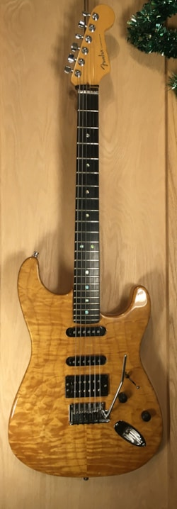 2003 Fender American Deluxe Stratocaster QMT HSS