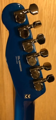 2003 Fender Esquire Custom GT French Racing Blue