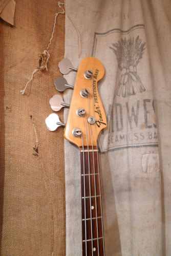 2003 Fender Precision Bass (1970 Reissue) Olympic White, Very Good, GigBag, $875.00