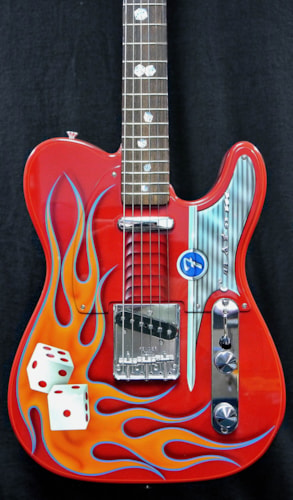 2003 Fender Telecaster Hot Rod Red, Mint, Original Hard, $10,995.00