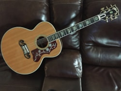 2003 Gibson Custom Shop Elite SJ-200 Elite Custom Brazilian Rosewood