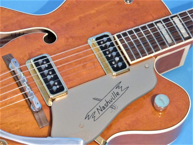 2003 Gretsch (Japan) 6120 DS Western Orange, Mint, Original Hard