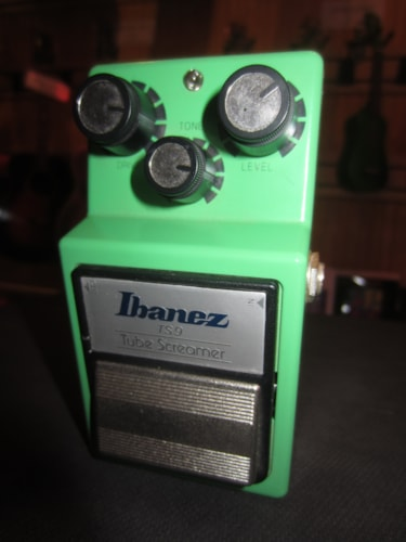 2003 Ibanez TS-9 Tube Screamer w/ Keeley Mod Green, Excellent, $195.00
