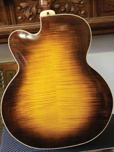 2003 Mark Simon D'Angelico style D'Angelico style Excel Cremona Sunburst, Excellent, Original Hard