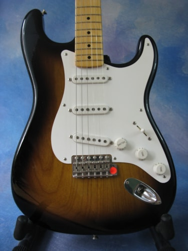 2004 Fender® '54 50th Anniversary Masterbuilt Stratocaster® (1954 Reissue) Sunburst, Brand New, Original Hard