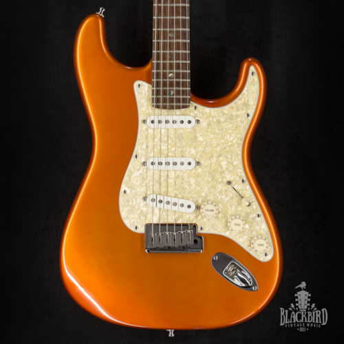 2004 Fender American Deluxe Stratocaster Candy Tangerine
