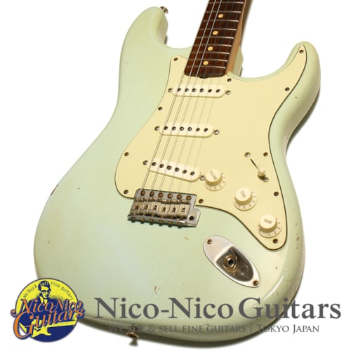 2004 Fender Custom Shop 1961 Stratocaster Relic Sonic Blue