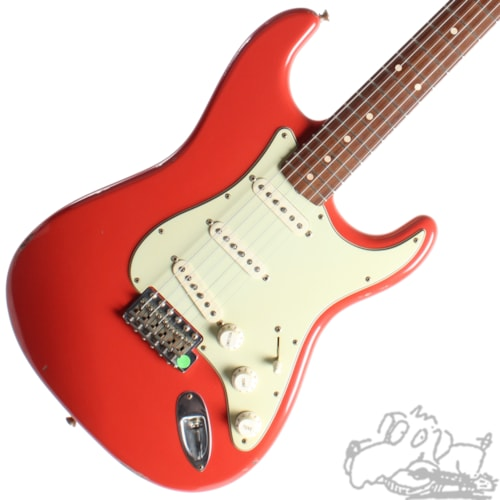 2004 Fender® Custom Shop '60 Stratocaster® Relic® Fiesta Red, Mint, Original Hard, $2,850.00