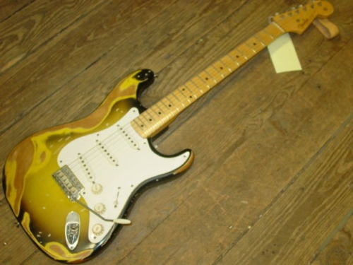 2004 Fender® Stratocaster® Heavy Relic® (1956 Reissue) Excellent, Original Hard