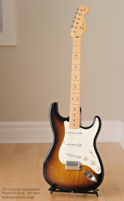 2004 Fender Stratocaster John English Masterbuilt 50th Ann.