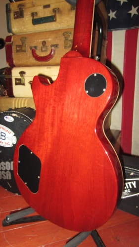 2004 Gibson Les Paul Standard Plus Guitar of the Month Wine Red flamed top, Excellent, Original Hard, $2,195.00