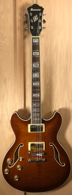 2004 Ibanez AS83L-VLS-12-01 Left Handed