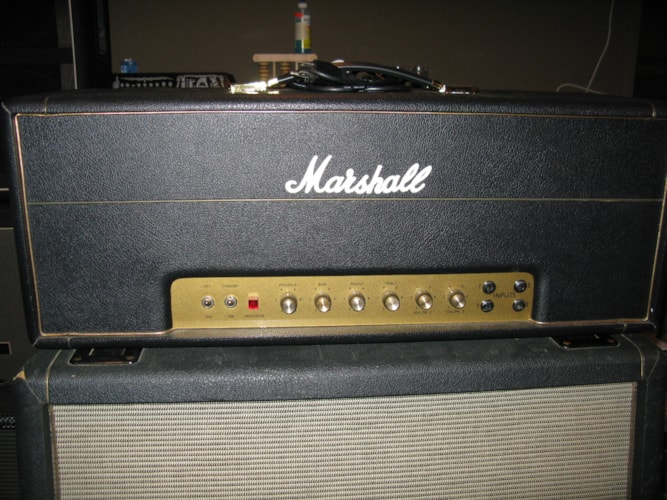 2004 Marshall/Metro 1968 100w plexi Replica Black, Excellent
