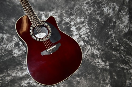 2004 Ovation  Legend LX- 1777LX Burgundy