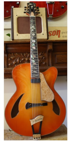 2004 Ribbecke 25th Anniversary archtop  Sunburst