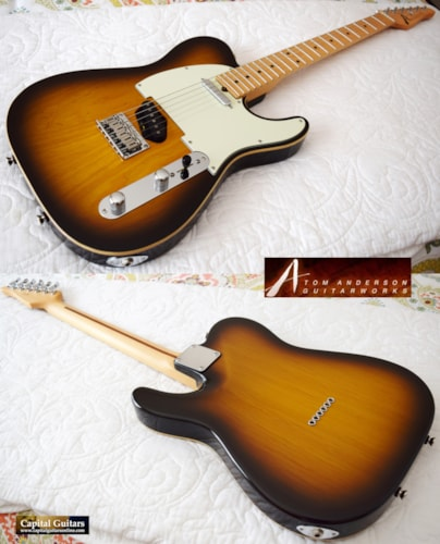 2004 Tom Anderson Hollow T Classic Oversized Neck, 6.0 lbs!