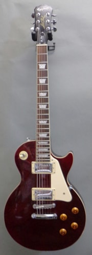 2005 Epiphone Les Paul STD Plus Top Wine Red, Excellent, GigBag