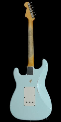 2005 Fender '59 Relic Strat JOHN ENGLISH Sonic Blue, Mint, $5,999.00