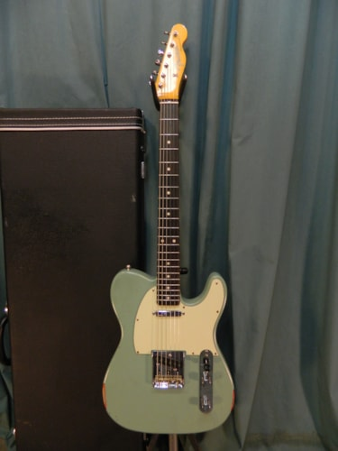 2005 Fender 60's Classic Telecaster (1962 reissue) Aged Surf Green