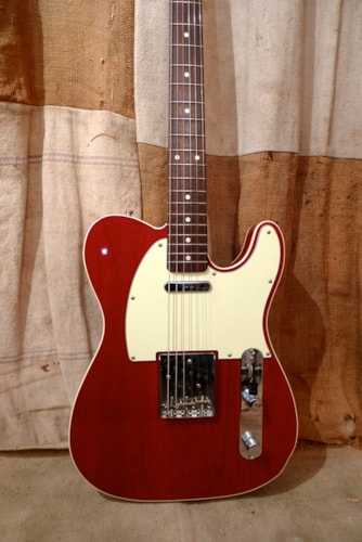 2005 Fender Telecaster Custom (1962 Reissue) Cherry Red, Excellent, GigBag, $1,150.00