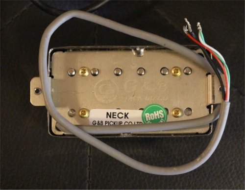Miraculous Gb Humbucker Set Chrome Pickups Ajs Music Vintage Guitars Wiring 101 Capemaxxcnl
