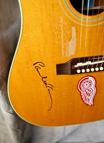 2005 Gibson Custom Shop Epiphone Paul McCartney Texan #32 of 40 Built (1964 Reissue) Natural, Mint, Original Hard