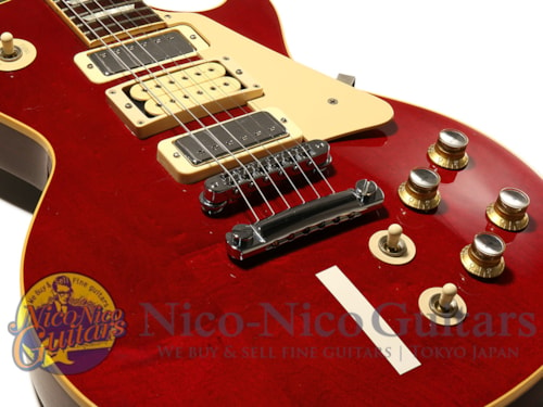 2005 gibson custom shop pete townshend les paul deluxe 1 wine red guitars electric solid. Black Bedroom Furniture Sets. Home Design Ideas