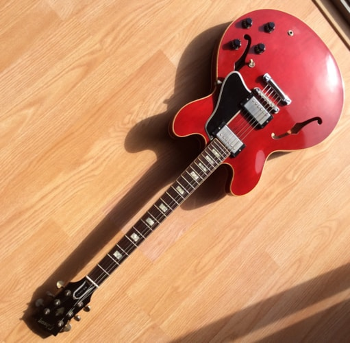 2005 Gibson  ES-335 TDC Clapton (1964 Reissue) Cherry, Mint, Original Hard