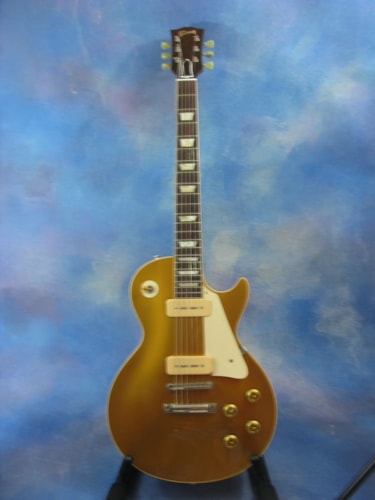 2005 Gibson ***ON HOLD***'56 Les Paul Historic Reissue All Gold Goldtop All Gold, Mint, Original Hard, $2,995.00