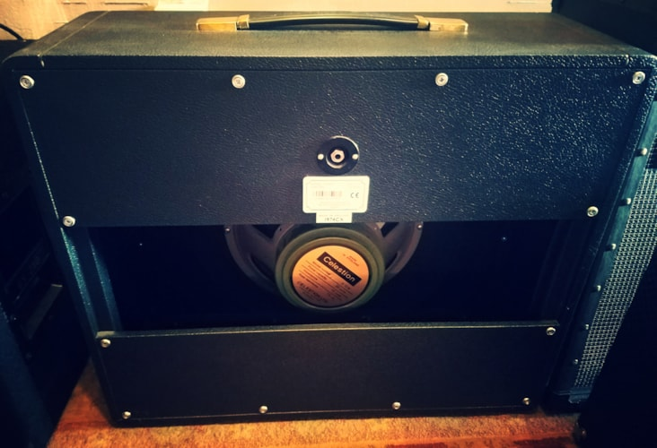 2005 Marshall 1974CX 1x12 Amp Cab - Celestion Greenback, Excellent, $449.00