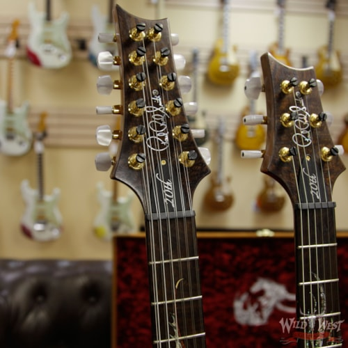 2005 PRS - Paul Reed Smith 2005 PRS Paul Reed Smith 20th Anniversary Double Neck Dragon #6 Natural